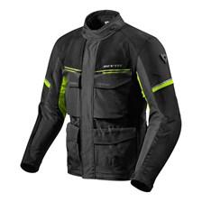 REV'IT! Outback 3 Jacket Zwart-Fluogeel