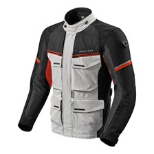 REV'IT! Outback 3 Jacket Argent-Rouge