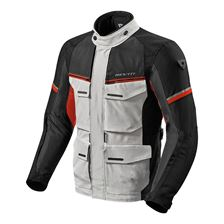 REV'IT! Outback 3 Jacket Argent-Rouge