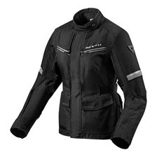 REV'IT! Outback 3 Jacket Lady Noir-Argent