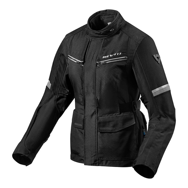 REV'IT! Outback 3 Jacket Lady Zwart-Zilver