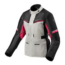 REV'IT! Outback 3 Jacket Lady Zilver-Roze