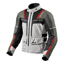REV'IT! Offtrack Jacket Argent-Rouge