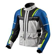 REV'IT! Offtrack Jacket Zilver-Blauw
