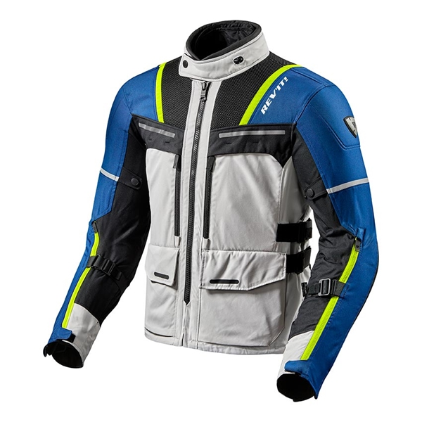 REV'IT! Offtrack Jacket Zilver-Blauw