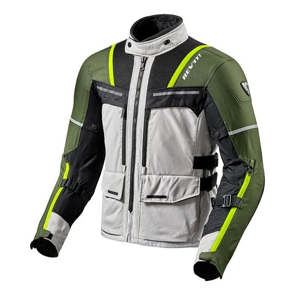 REV'IT! Offtrack Jacket Zilver-Groen