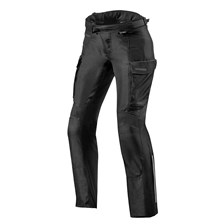REV'IT! Outback 3 Pants Lady Zwart kort