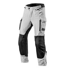 REV'IT! Offtrack Pants Zwart-Zilver kort