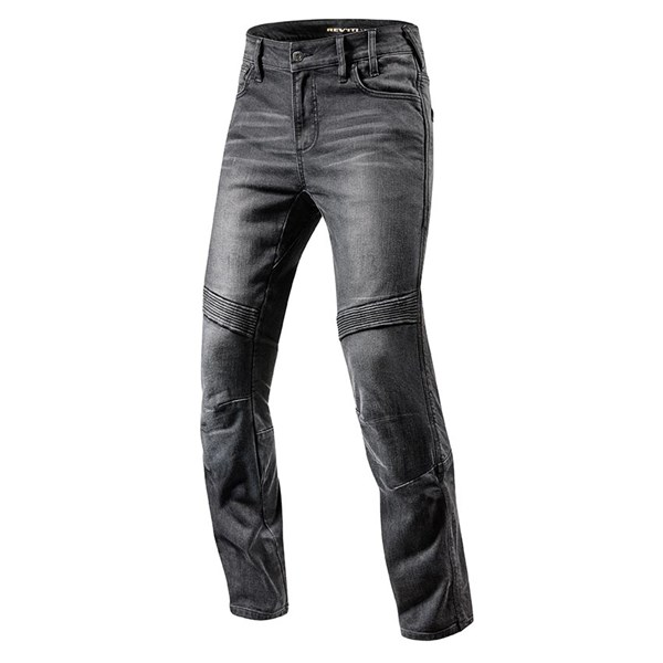REV'IT! Moto Noir longueur 34