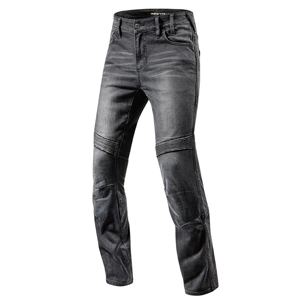 REV'IT! Moto TF Noir longueur 34