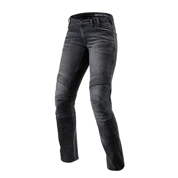 REV'IT! Moto TF Lady Noir longueur 32