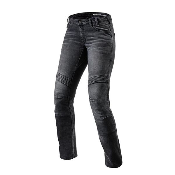 REV'IT! Moto TF Lady Zwart lengte 32