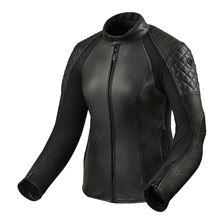 REV'IT! Luna Lady Jacket Zwart