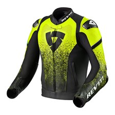 REV'IT! Quantum Noir-Jaune Fluo