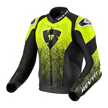 REV'IT! Quantum Air Noir-Jaune Fluo