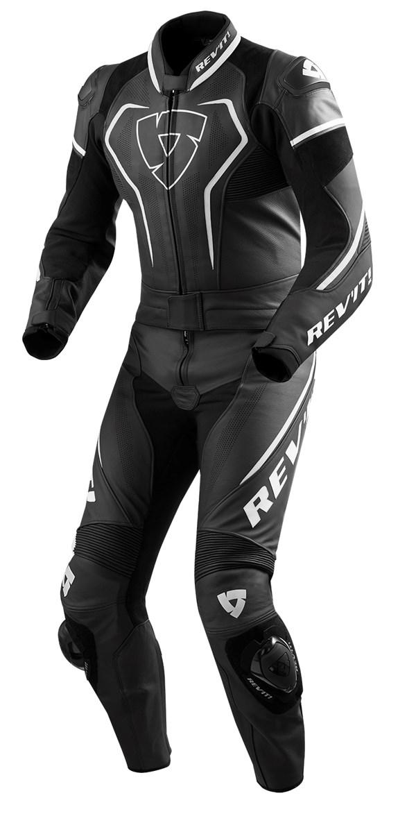 REV'IT! Vertex Pro 2-piece suit Zwart-Wit