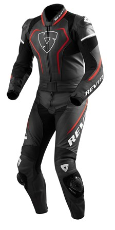 REV'IT! Vertex Pro 2-piece suit Noir-Rouge