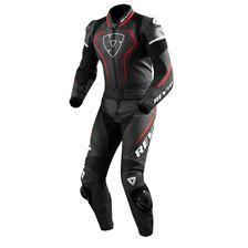 REV'IT! Vertex Pro 2-piece suit Zwart-Rood