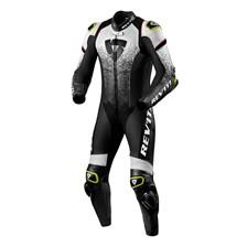 REV'IT! Quantum 1-piece suit Blanc-Noir