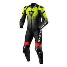 REV'IT! Quantum 1-piece suit Fluogeel-Zwart