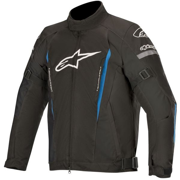 ALPINESTARS Gunner V2 Waterproof Jacket Zwart-Helder Blauw