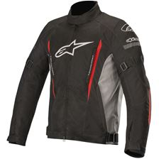 ALPINESTARS Gunner V2 Waterproof Jacket Noir-Gris-Rouge