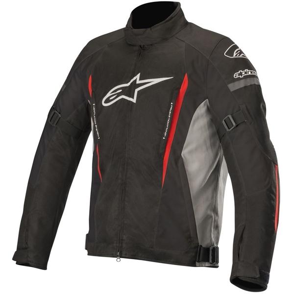 ALPINESTARS Gunner V2 Waterproof Jacket Zwart-Grijs-Rood