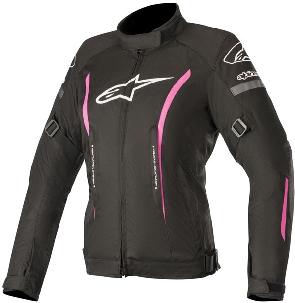 ALPINESTARS Stella Gunner V2 Waterproof Jacket Noir-Fuchsia