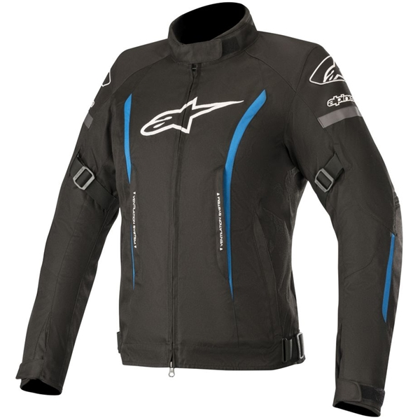 ALPINESTARS Stella Gunner V2 Waterproof Jacket Noir-Bleu Clair