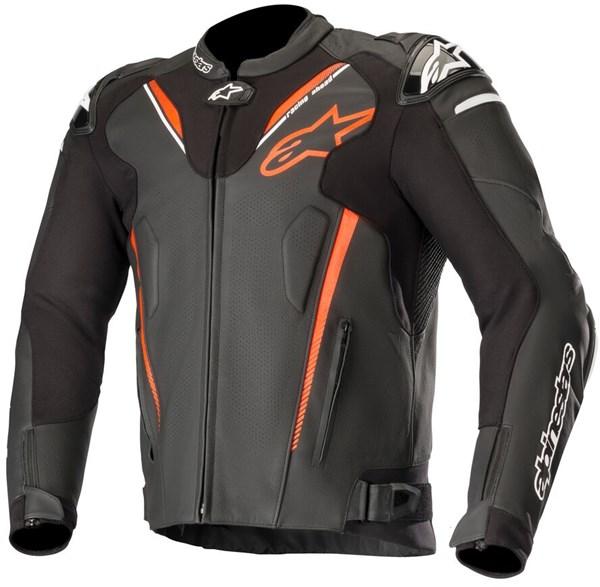 ALPINESTARS Atem V3 Jacket Zwart-Rood Fluo