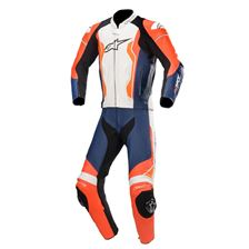 ALPINESTARS GP Force 2PC Suit Rood Fluo-Zwart-Wit-Oranje Fluo