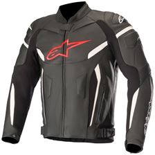 ALPINESTARS GP Plus R V2 Jacket Zwart-Rood Fluo
