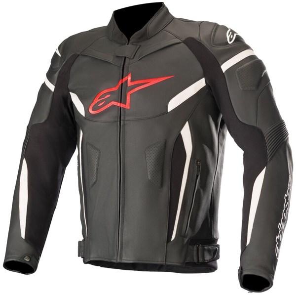 ALPINESTARS GP Plus R V2 Jacket Zwart-Rood Fluo