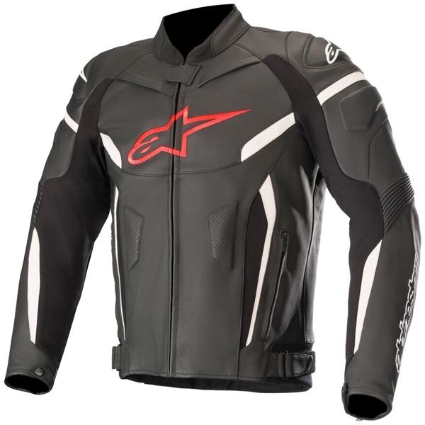 ALPINESTARS GP Plus R V2 Jacket Noir-Rouge Fluo