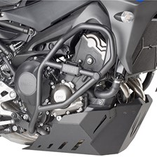 GIVI Crash bars en acier bas du moteur TN2139