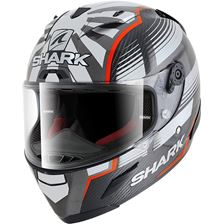 SHARK RACE-R Pro Carbon Rep. Zarco Malaysian GP Carbon-Rood-Antraciet DRA