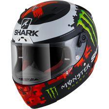 SHARK RACE-R Pro Rep. Lorenzo Monster 2018 Mat Zwart-Rood-Groen KRG