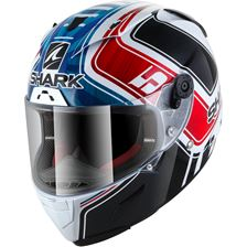 SHARK RACE-R Pro Rep. Zarco GP de France Wit-Blauw-Rood WBR