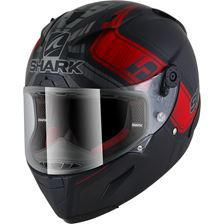 SHARK RACE-R Pro Rep. Zarco GP de France Mat Noir-Anthracite-Rouge KAR