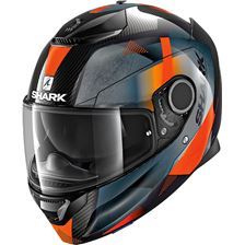SHARK Spartan Carbon 1.2 Kitari Carbon-Orange-Anthracite DOA