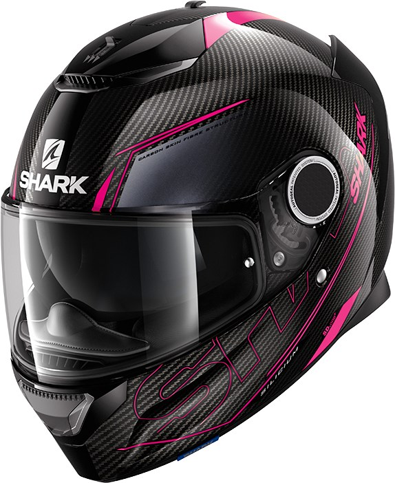 SHARK Spartan Carbon 1.2 Silicium Lady Carbon-Paars-Antraciet DVA