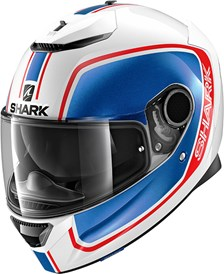 SHARK Spartan 1.2 Priona Wit-Blauw-Rood WBR