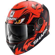 SHARK Spartan 1.2 Rep. Lorenzo Austrian GP Mat Rouge-Noir-Rouge RKR