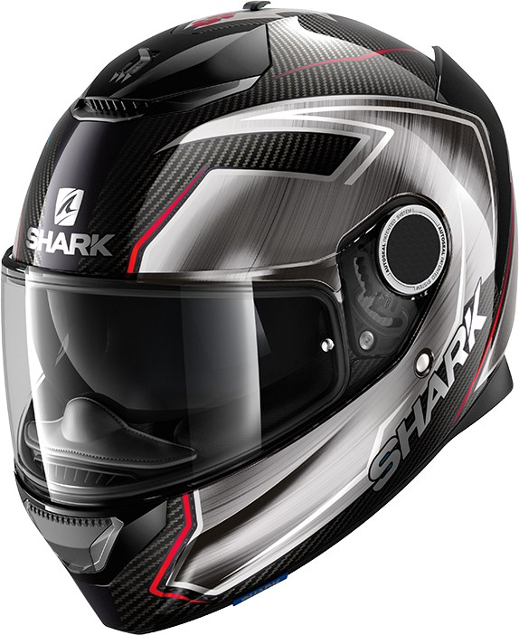 SHARK Spartan Carbon 1.2 Rep. Guintoli Carbon-Chrome-Rouge DUR