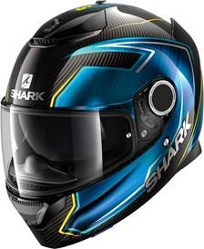 SHARK Spartan Carbon 1.2 Rep. Guintoli Carbon-Blauw-Geel DBY