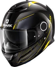 SHARK Spartan Carbon 1.2 Silicium Carbon-Jaune-Anthracite DYA