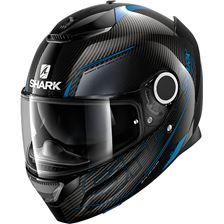 SHARK Spartan Carbon 1.2 Silicium Carbon-Blauw-Antraciet DBA