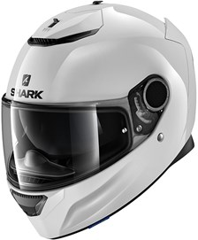SHARK Spartan 1.2 Blank Wit WHU