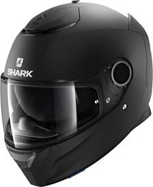 SHARK Spartan 1.2 Blank Mat zwart KMA