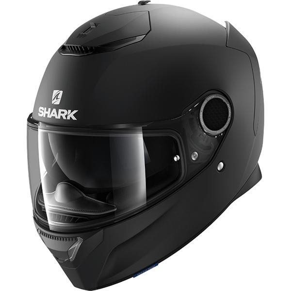 SHARK Spartan 1.2 Blank Noir mat KMA